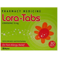 Lora-Tabs Allergy & Hayfever 10mg 30